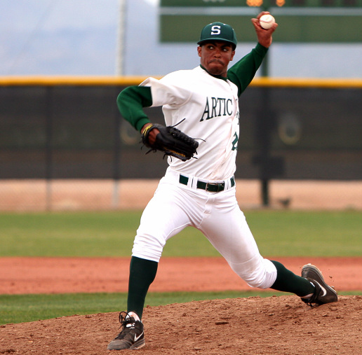 Tarpley had a solid 2 inning debut in scottsdale community college s